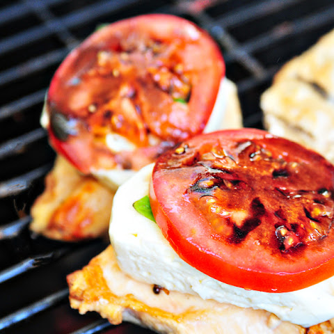 Caprese Grilled Chicken with Balsamic Reduction