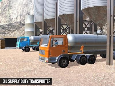Oil Tanker Transporter Truck APK