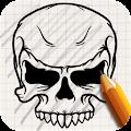 Download Draw Tattoo Skulls APK on PC