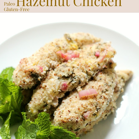 Lemon & Mint Hazelnut Chicken
