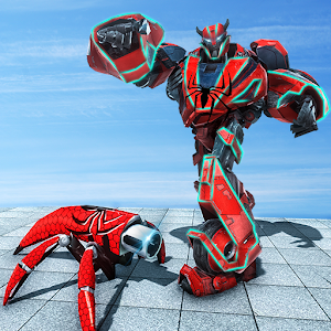 Download Spider Air Robot Transformation Multi Spider Fight for PC