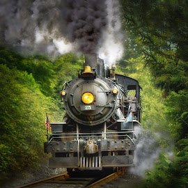 Hit The Rails by Nickel Plate Photographics - Transportation Trains