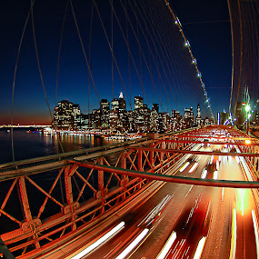Brooklyn bridge...NY by Benoit Beauchamp - Landscapes Travel