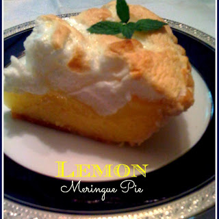 Old Fashioned Lemon Meringue Pie!