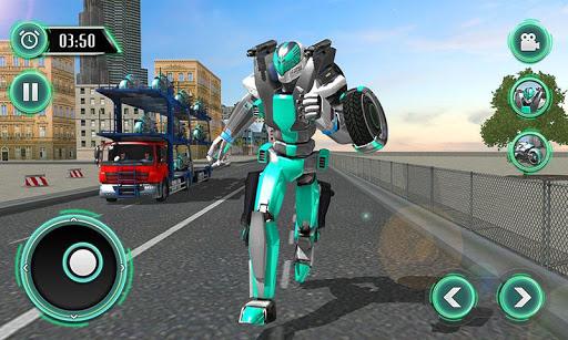 Robot Bike Transport Truck Sim For PC