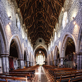 St. Canice's Cathedral by Harvey Horowitz - Buildings & Architecture Places of Worship