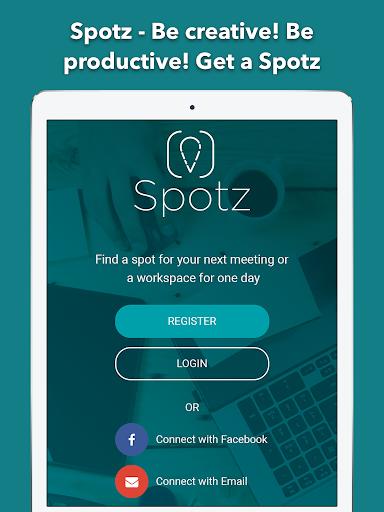 Spotz - Be creative! Be productive! Get a Spotz screenshot 6