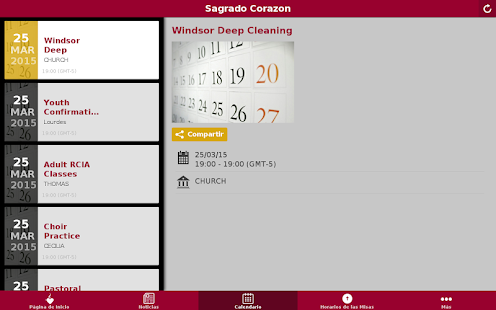 Sagrado Corazon Conroe, TX - screenshot