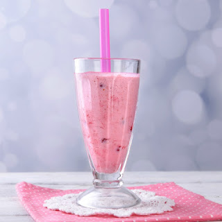 Raspberry and Banana Smoothie