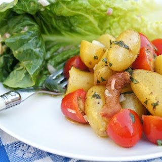 Warm BLT Potato Salad