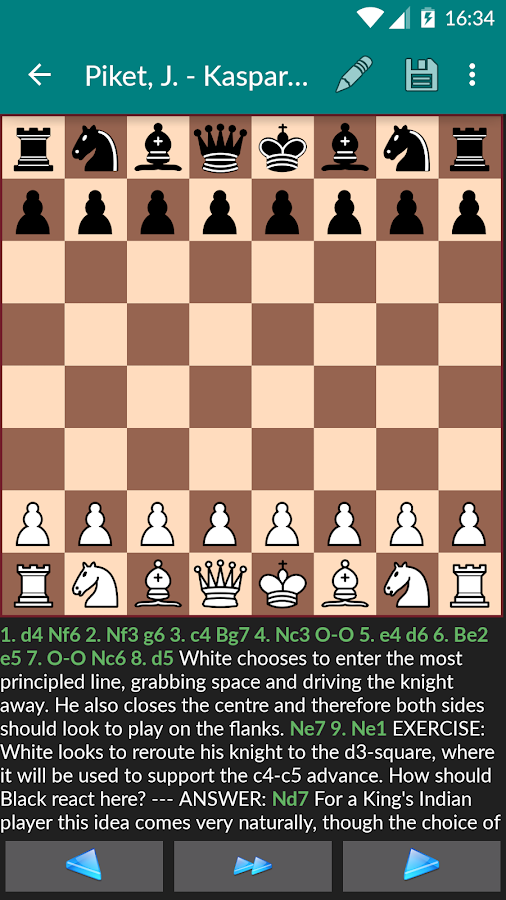 Perfect Chess Database Screenshot 2