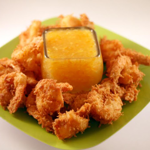Coconut Shrimp with Orange Ginger Marmalade Sauce