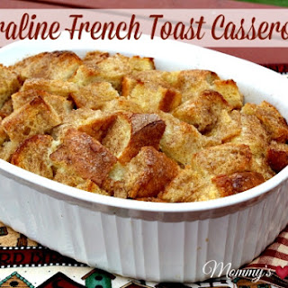 Praline French Toast Casserole {Overnight Recipe}