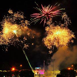 by ERFAN AFIAT SENTOSA - Abstract Fire & Fireworks