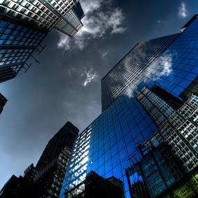 NY C REFLECTIONS by Liz Okon - Buildings & Architecture Other Exteriors