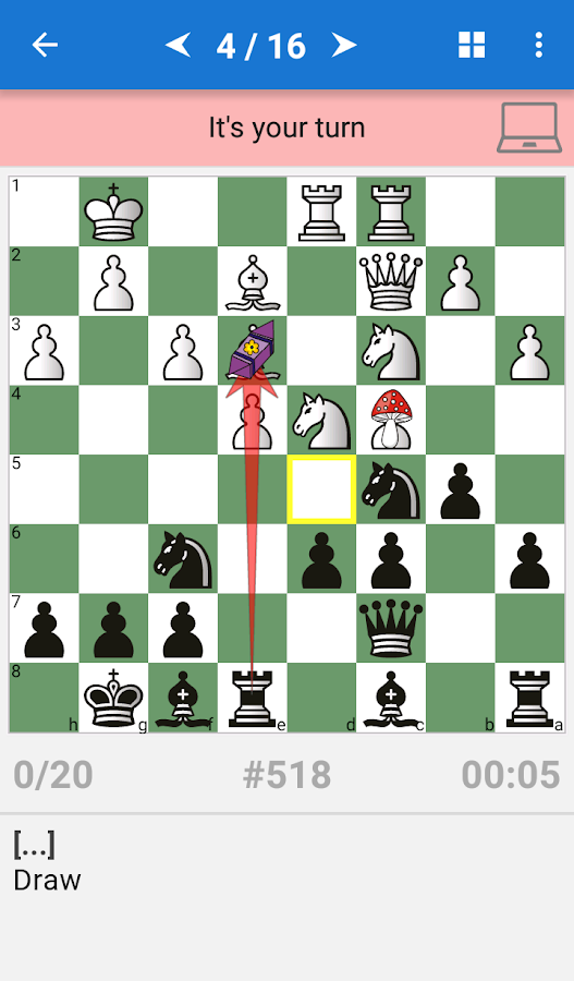 Chess Middlegame IV Screenshot 1