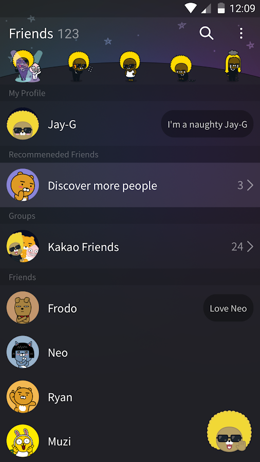 Jay-G - KakaoTalk Theme android apps download