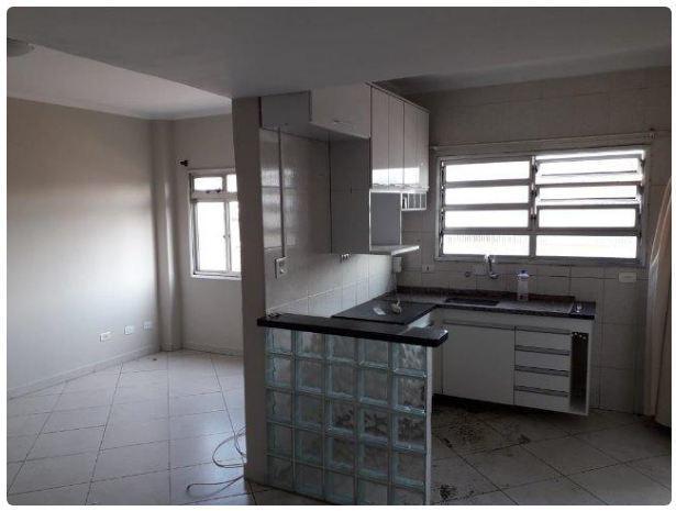 Apartamento com 2 dormitórios para alugar, 80 m² por R$ 1.500/mês - Vila Voturua - São Vicente/SP