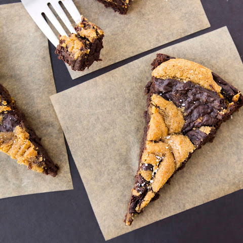 Vegan Peanut Butter Swirl Brownies