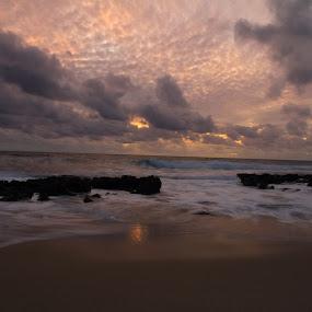 Warm Reflection by Tony Burnard - Landscapes Sunsets & Sunrises ( clouds, sunset )