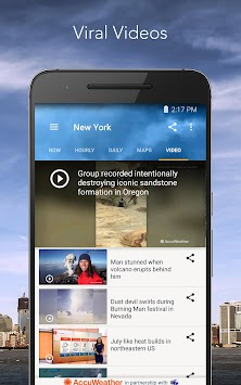 AccuWeather Platinum APK screenshot thumbnail 23