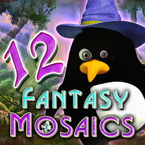 Cover art Fantasy Mosaics 12