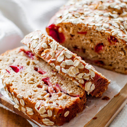 Strawberry Oat Bread