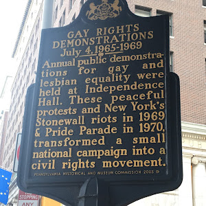 GAY RIGHTS DEMONSTRATIONS July 4,1965-1969 Annual public demonstra- tions for gay and lesbian equality were held at Independence Hall. These peaceful protests and New York's Stonewall riots in 1969 & ...