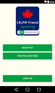 Free CELPIP Friend - Speaking APK for Android
