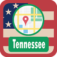 USA Tennessee Maps