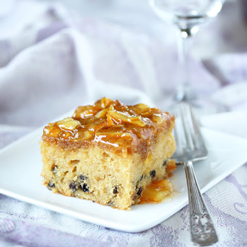 Orange Marmalade Cake with Currants