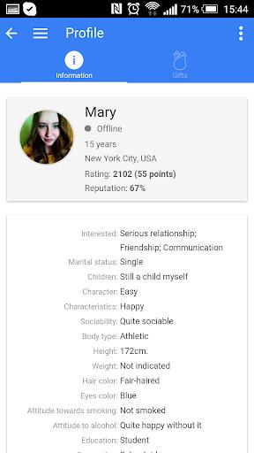 InDating - new dating - screenshot