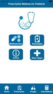 Prescrições Médicas Pediatria screenshot for Android