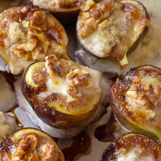 Figs Stuffed with Gorgonzola and Walnuts
