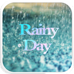 Glass Rainy Emoji Keyboard Art 1.2.2 Apk