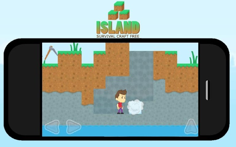 android Island Survival Craft FREE Screenshot 1