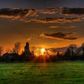 Late in the evening by Kevin Ward - Landscapes Sunsets & Sunrises