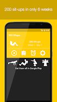 Screenshot of 200 Situps