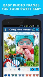 Baby Photo Frames + - screenshot