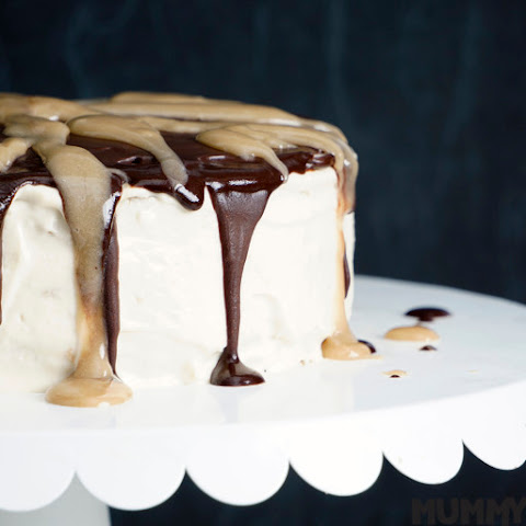 Sweet Potato, Caramel and Chocolate Tiramisu Cake