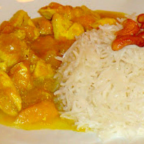 Chicken with Mango Stew