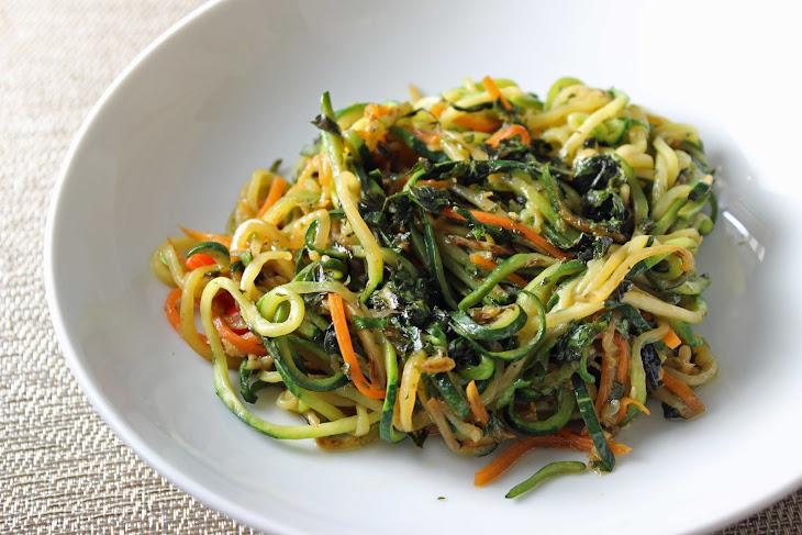 Thai Basil Pesto Zoodles Recipe | Yummly