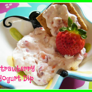 Strawberry Yogurt Dip