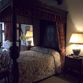 Master Bedroom  by Lorraine D.  Heaney - Buildings & Architecture Public & Historical