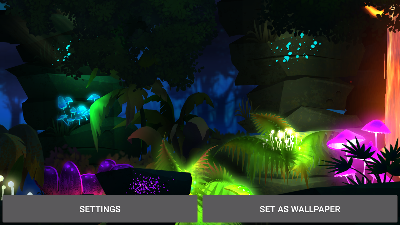 Firefly Jungle Live Wallpaper Screenshot 16
