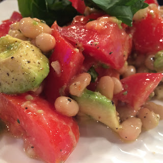 Avocado White Bean Salad