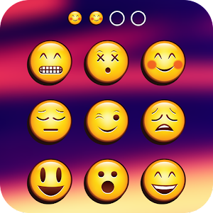 Emoji Lock Screen Icon