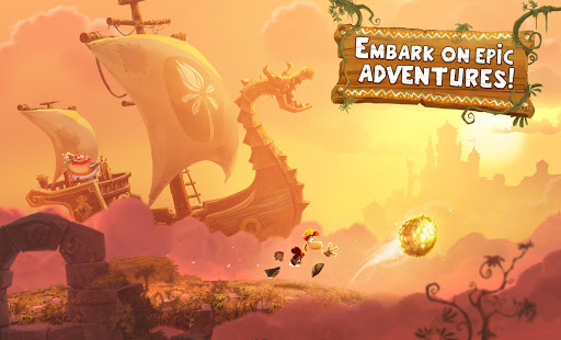 Game Rayman Adventures APK for Kindle