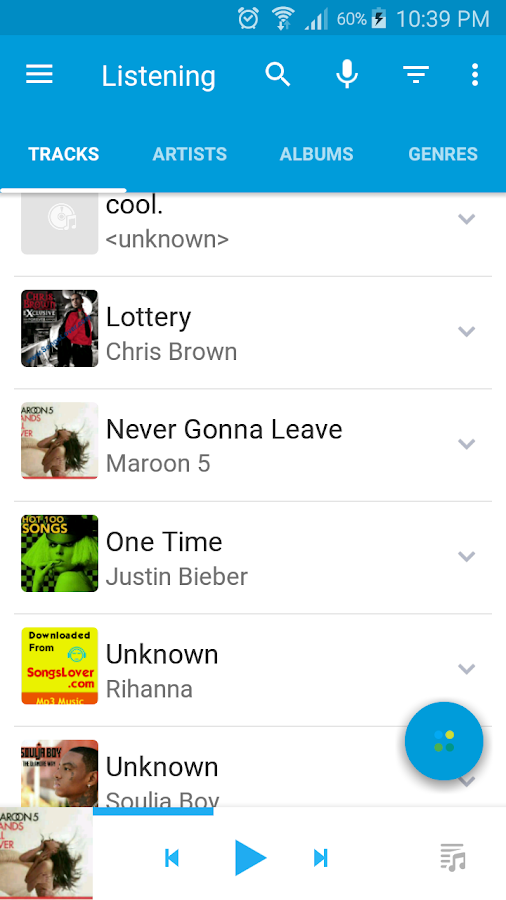 Muziko Music Player Screenshot 7