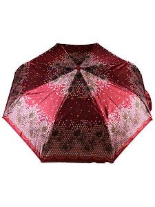 "Зонт ""Компакт L"", 110см, темно-малиновый"